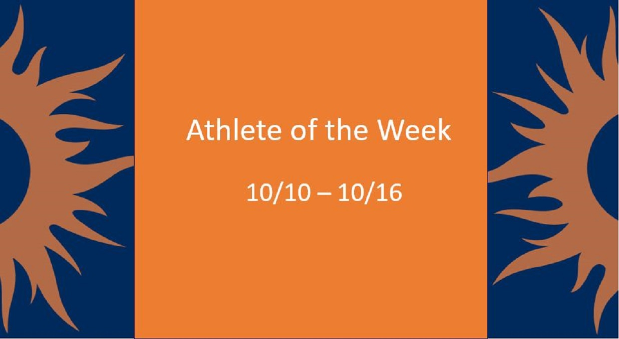 Photo for Athlete of the Week 10/10 - 10/16